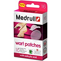 Medrull Wart Remover Pads 16 Pflasters