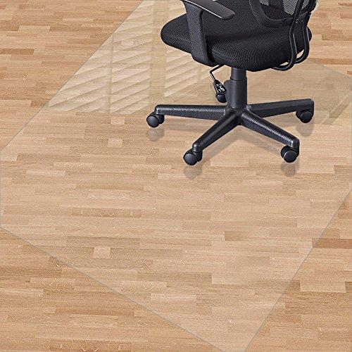 Alfombrilla para silla para suelos duros, 120 x 90 cm, material no...