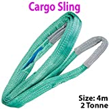 4m–2tonnellate (2000KG) imbracatura morbida Strong imbracature–sollevamento gru paranco strap–Heavy Duty Bungee Cord–Secure Store garage