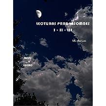 Lecturas para insomnes (I-II-III): ROJO - paco Y... - NEGRO (Spanish Edition)