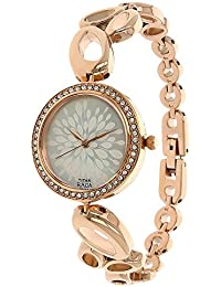 Titan Raga Analog Mother of Pearl Dial Women's Watch -NK2539WM01