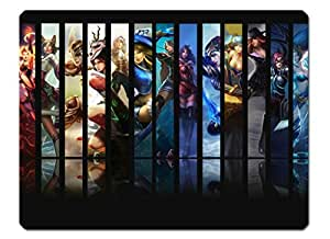 NEW League of Legends LOL Mousepad Girls---Ahri/Janna/Annie/Riven/Sona/Miss Fortune/Lulu/Caitlyn/Lux/Akali A