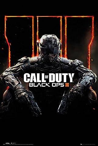 Poster de call of duty black ops cover panned out 3 accessoires de fixation pas de cadre