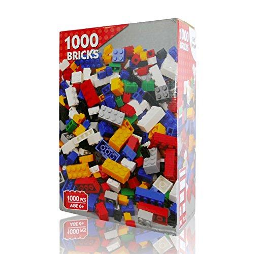Preisvergleich Produktbild Katara Große Box mit 1000 Grund-Bausteinen im Set L..o kompatibel