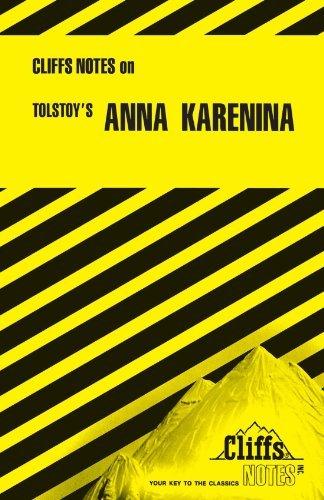 Anna Karenina (Cliffs Notes) by Marianne Sturman (1965-11-12)