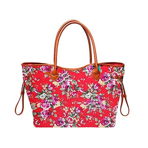Shopper Damen Handtasche Nylon Haspe Folk-Custom Geldbörse Schulter Tote Handtasche Casual Bag Schultertasche Taschen