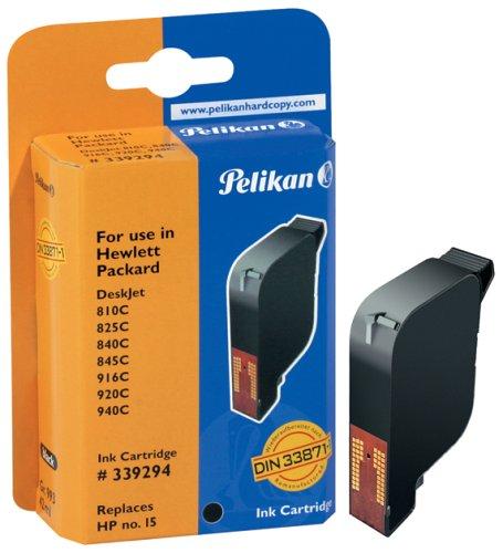 Pelikan Druckerpatrone H10 ersetzt HP C6615DE, Schwarz (pigment)