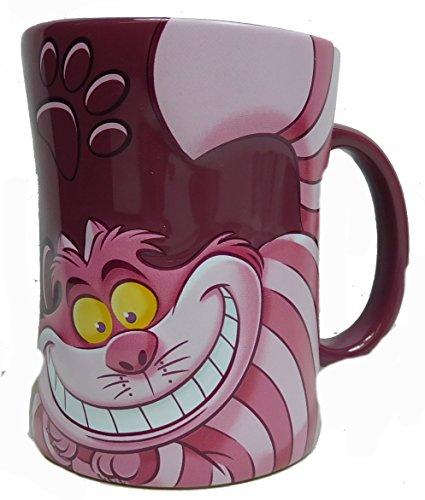 Disney Kaffeetasse Tasse Mug Pott Kaffee Disneyland Paris Grinsekatze