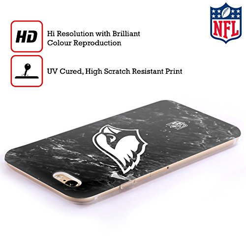 Offizielle NFL Marmor 2017/18 Arizona Cardinals Soft Gel Hülle für Apple iPhone 6 / 6s Marmor