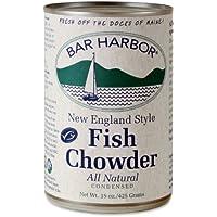 Bar Harbor Chowder, Wild-Caught Alaskan Fish, 15 Ounce