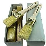 ROTIX-9192 6 x Flachpinsel Lackier-Pinsel 12. Stärke Profi-Qualität 6er-Pack