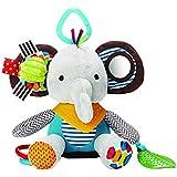 YeahiBaby infant baby plush suspensión elephant rattle juguetes colgantes para cochecitos espiral de Animales