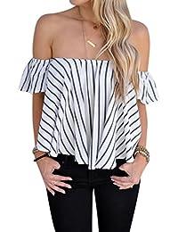 c2670af4d1 Amazon.es  Lunares - Blusas y camisas   Camisetas