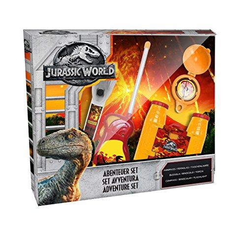 Jurassic World 75449 Adventureset 5 teilig bestehend aus Walkie Talkies, Fernglas, Kompass Preisvergleich