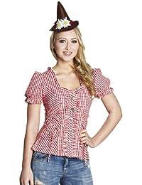 Rubies Damen Trachten Bluse