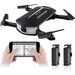 Mini Drone, Kingtoys JJR / C H37 BABY ELFIE WIFI FPV RC Drone , 720P Telecamera, G-Sensore, modalità di bellezza, Alta Attesa Modalità Selfie Macchina Fotografica RC Quadcopter(2 pcs Batteria)