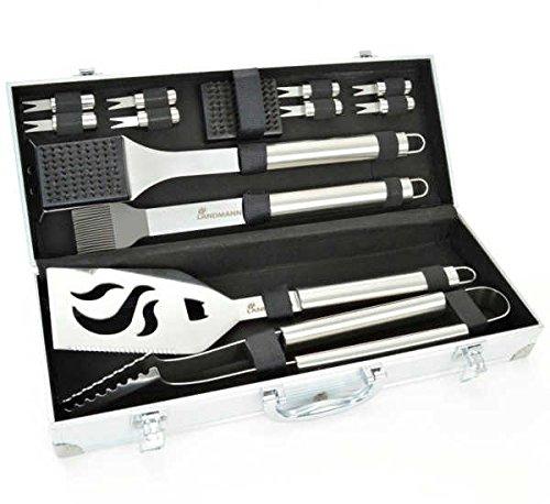 Landmann Edelstahl 13399 Werkzeug-Set (13-teilig)
