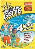 Graine de génie 4eme : Français, math, anglais, sciences, histoire, géo