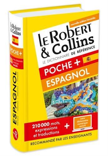 Dictionnaire Le Robert & Collins Poche Plus espagnol et sa version numérique à télécharger PC par Collectif