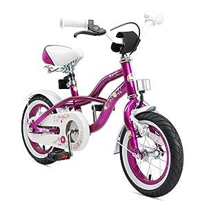 """51V1UHelbML. SS300 BIKESTAR Bicicletta Bambini 3-5 Anni Bici Bambino Bambina 12 Pollici Freno a Pattino e Freno a retropedale 12"""" Cruiser…"""