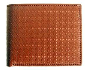 Van Heusen High Quality Luxury Genuine Brown Men's Leather Wallet