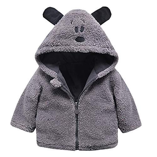 wholesale dealer 20a8e 93da6 Cappotto Bimba Elegante Giacca Bambino Elegante Felpa Bambina 1 2 3 Anno  Bambino Bambini Bambine Autunno Inverno Hooded Cappotto Mantello Giacca ...