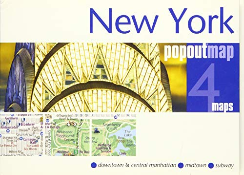 New York: PopOut Maps -