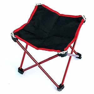 uzi-outdoor pieghevole sgabello da bar, feci aluminum Fishing, ultra Light Portable Four picnic panche