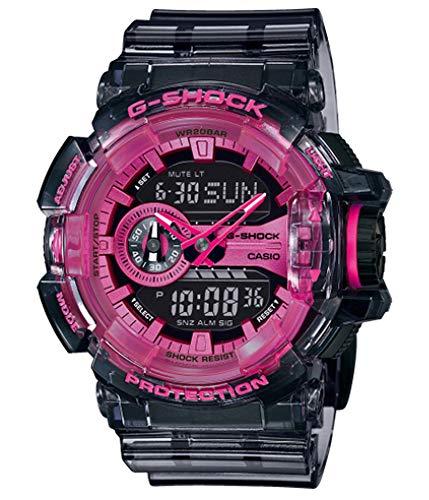 Casio Herren Analog - Digital Quarz Uhr mit Harz Armband GA-400SK-1A4ER