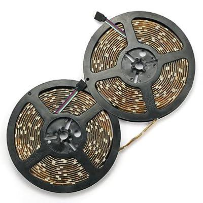 SainStyle RGB SMD5050 10M Wasserdicht LED Strip Leiste Streifen 16 Farbe Mit 24 Taste-Fernbedienung Controller LED-Beleuchtung von RoboTrader - Lampenhans.de