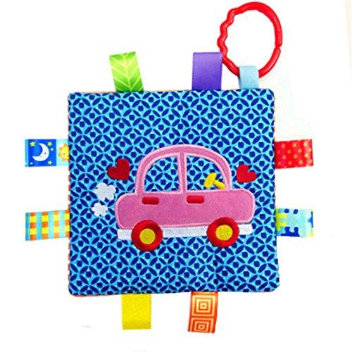 Lalang Auto Muster Baby Beschwichtigen Handtuch Spielzeug, Kleinkindspielzeug