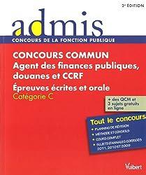 Concours commun, Agent des finances publiques, douanes et CCRF : Epreuves écrites et orale, Catégorie C
