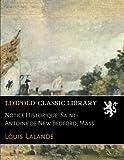 Notice Historique: Saint-Antoine de New Bedford, Mass.