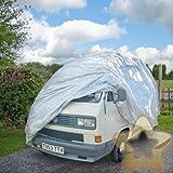 2.07m VW Camper High Top Cover Luxury Fleece Lined Universal Split Bay Transporter Combi