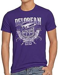style3 Outa Time T-Shirt Homme DMC futur delorean voyage dans le temps