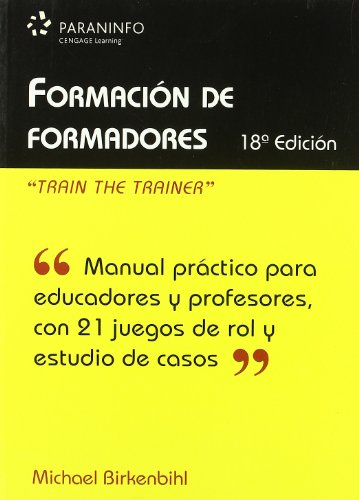 Formación de formadores (Educacion) por MICHAEL BIRKENBIHL
