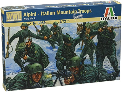 Italeri 6059 - WWII  Italian Mountain Troops Alpini Scala 1:72