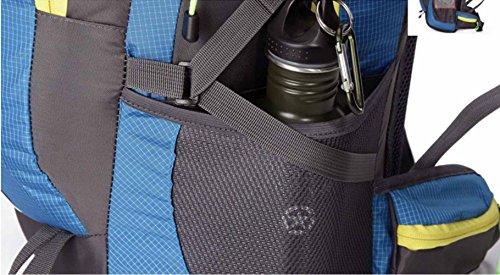 AllureFeng Outdoor-Sportarten wasserdichte Rucksack 40L Männer und Frauen Tasche Wanderrucksack Black