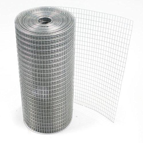 Treillis métallique soudé disponible en trois largeurs (19 jauges) (1220mmx30m)(wire 21123)