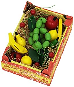 Legler Box with Pretend Play Fruits