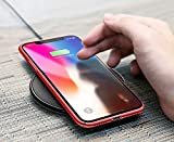 FAVELA Apple iPhone X Breath Case Ultra Thin Slim Robust PC Protective Cover Case for Apple iPhone X (Red)