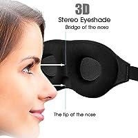Luxus 3D Memory Foam Augenmasken, voll einstellbar und perfekt für Damen mit Wimpernverlängerung preisvergleich bei billige-tabletten.eu