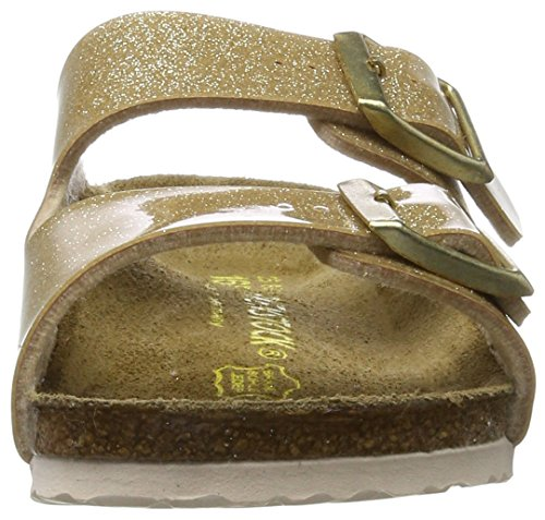 Birkenstock - Arizona, Pantofole Bambina Gold (Magic Galaxy Gold)