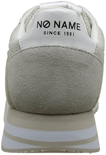No Name Eden Street, Baskets Basses Femme Blanc (White)
