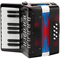 Classic Cantabile 32272 - acordeón para niños, 8 bajos, color negro