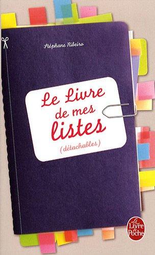 Le livre de mes listes : (détachables)