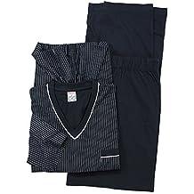 ADAMO Pijama Tallas Extra Grandes Pijama en Azul Oscuro 10XL