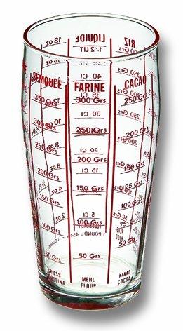 La Brunoise Vaso medidor profesional (vidrio templado)