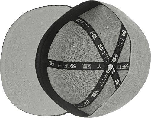 New Era 59fifty Basecap - Heather Patch - Heather Grey/Black - 7 1/4-58cm (L)