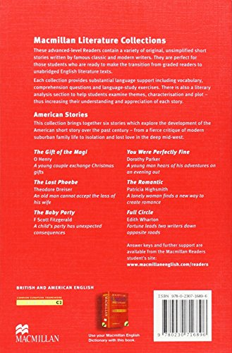 MR (A) Literature: Americ Short Stories (Macmillan Readers Literature Collections)